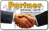 Partner calling card